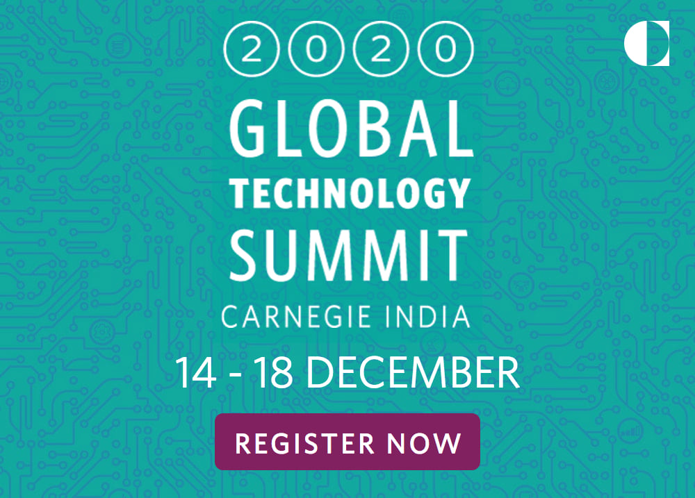 Ministry of External Affairs ( MEA ) is collaborating with Carnegie India (CI) in organizing the 5th edition of the Global Technology Summit (GTS) from December 14 to 18, 2020.