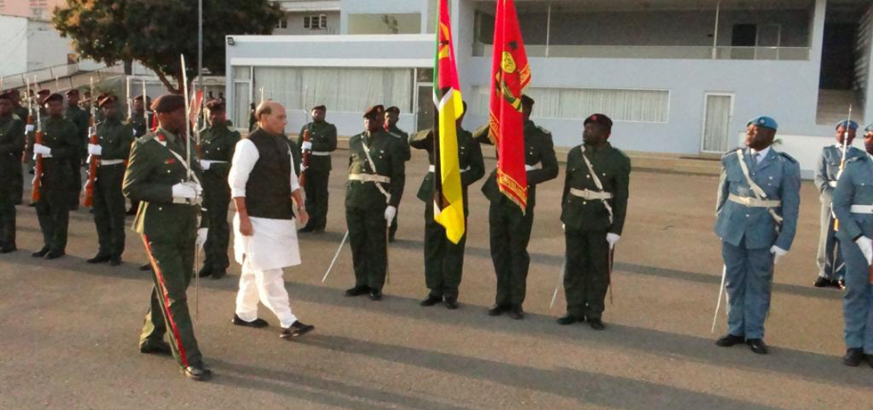 Raksha Mantri, Shri Rajnath Singh visited Mozambique from 28-30 July 2019